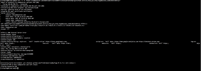Download plugins error - Plugins - Caddy Community